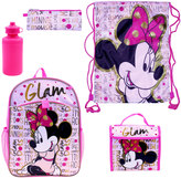 "Disney Disney's Minnie Mouse ""Glam"" 5-pc. Backpack Set"