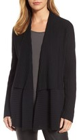 Eileen Fisher Women's Ribbed Merino Wool Long Cardigan