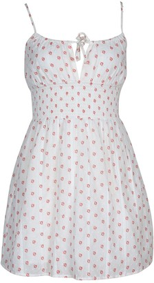 MinkPink Young Folk Mini Dress