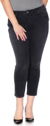 SLINK Jeans High Waisted Ankle Skinny Jeans