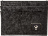 Dolce & Gabbana Black Crown Cardholder
