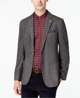 Ben Sherman Men's Slim-Fit Gray Herringbone Sport Coat
