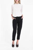 Raquel Allegra Raw Cotton Trousers