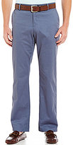 Murano Modern Straight Flat-Front Chino Pants