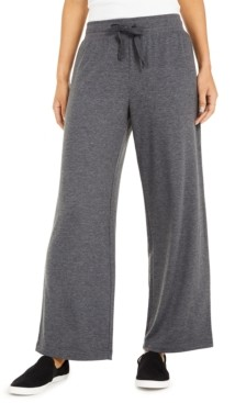 Style&Co. Style & Co Wide-Leg Tie-Waist Pants, Created for Macy's