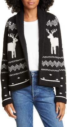 The Great Reindeer Lodge Cardigan