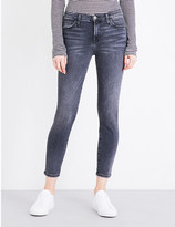 Current/Elliott Cropped skinny high-rise jeans