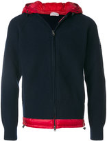 Moncler zip-up hooded sweater