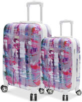 Steve Madden Plaid Hardside Expandable Luggage Collection