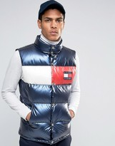 Tommy Jeans 90s Down Puffer Tank in Navy