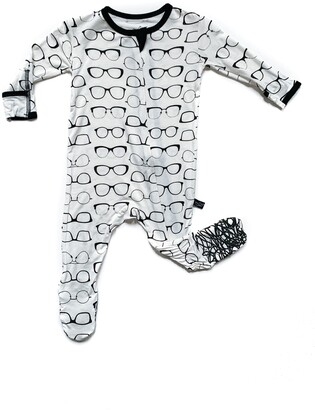 Peregrine Kidswear Glasses Fitted One-Piece Pajamas
