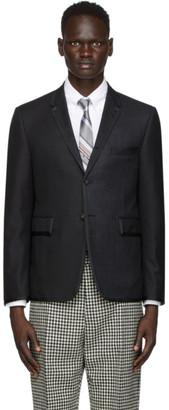 Thom Browne Black Wool Super 120s Funmix Blazer