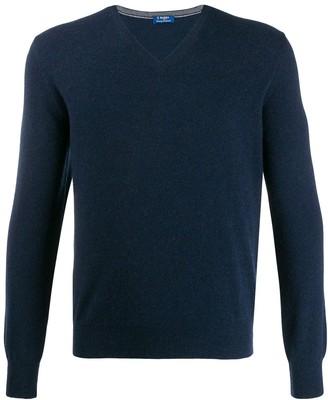 Barba V-neck jumper