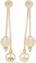 Carolina Bucci Carnevale 18-karat gold and enamel earrings