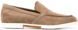 Ermenegildo Zegna Patch Detail Loafers