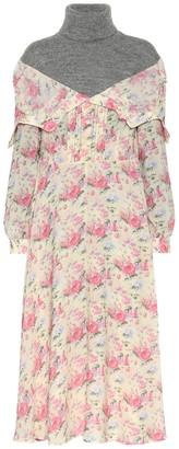 Junya Watanabe Layered sweater dress