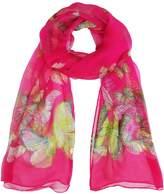 Honeystore Women's Butterfly Silk Scarves Printed Chiffon Long Soft Shawl Wrap