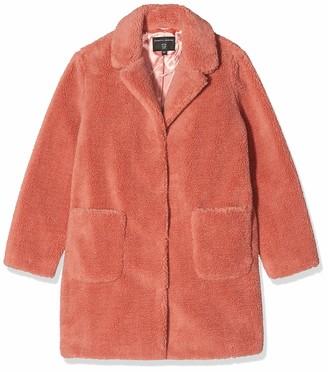 Dorothy Perkins Women's Teddy Faux Fur Coat