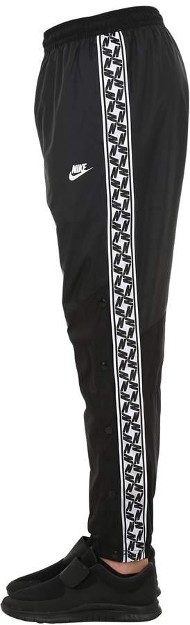 patchwork pants nike