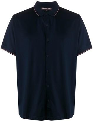 Michael Kors Stripe Trim Shirt