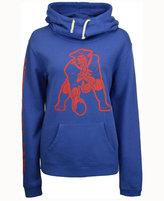 Junk Food Clothing Women's New England Patriots Logo Funnel Hoodie
