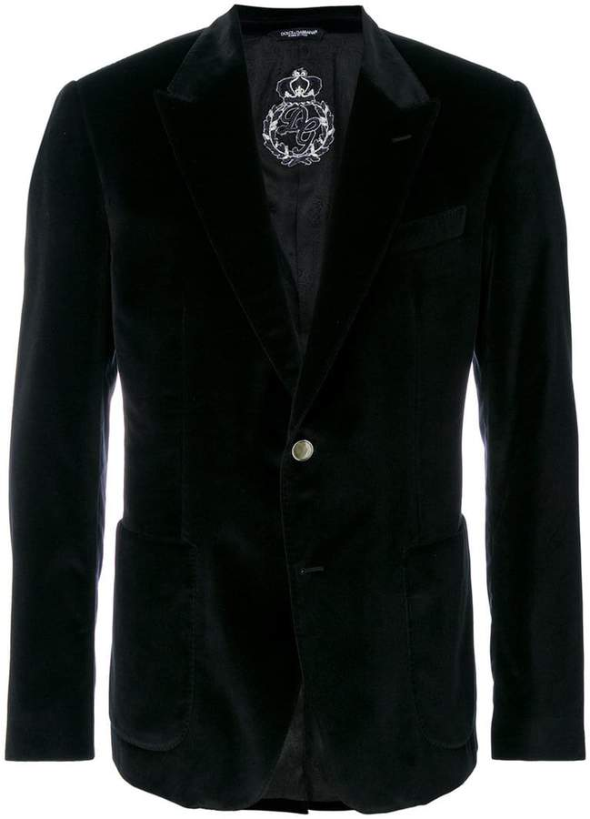 Dolce & Gabbana velvet dinner jacket