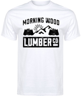 White 'Morning Wood' Tee - Men's Regular