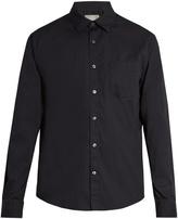 Vince Button-cuff cotton shirt
