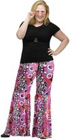 Fun World Costumes Size Womens Flower Child Bell Bottoms