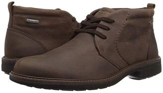 Ecco Turn GORE-TEX(r) Chukka Tie (Black) Men's Lace-up Boots
