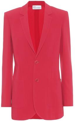 RED Valentino Stretch-twill blazer