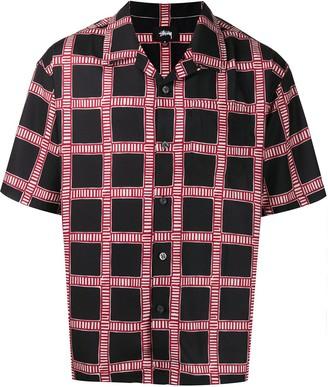 Stussy Short Sleeved Check Shirt