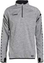 Hummel Auth. Charge Training Long Sleeved Top Grey Melange/black