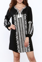 Kas Trudy Embroidered Dress