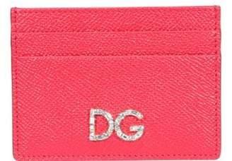 Dolce & Gabbana Embellished Logo Cardholder