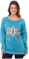 Rock and Roll Cowgirl Long Sleeve Sweatshirt 48T4253