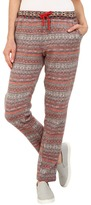 Hue Fairisle Brushed Fleece Relaxed Leggings