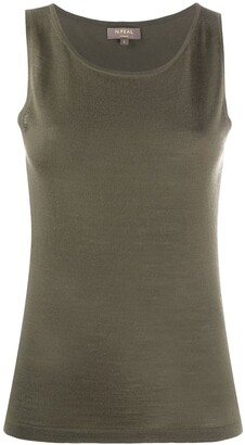 N.Peal Sleeveless Cashmere Top
