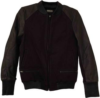 Francis Leon Black Exotic leathers Jackets