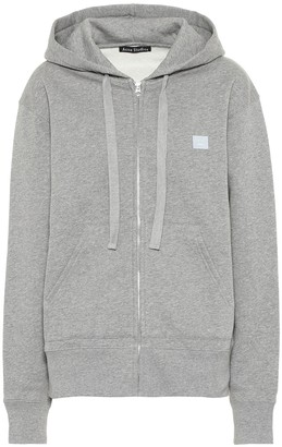 Acne Studios Ferris Zip Face cotton hoodie