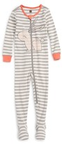 Tea Collection Infant Girl's Rabaid Fitted One-Piece Pajamas