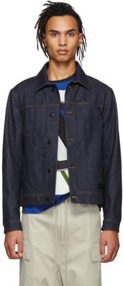 MONCLER GENIUS 5 Moncler Craig Green Indigo Denim Rock Jacket