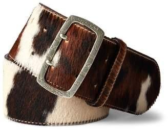 Ralph Lauren Haircalf Wide Belt