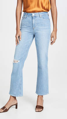 Paige Atley Ankle Flare Jeans