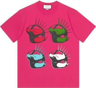 Gucci Manifesto oversize T-shirt