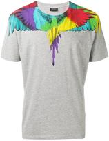 Marcelo Burlon County of Milan wings print T-shirt - men - Cotton - XS