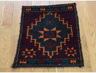 Isabelline Flory Baluch Bag Face Oriental Hand-Knotted Wool Area Rug Isabelline