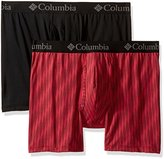 Columbia Men's 2-Pack Wave Performance Stretch Boxer Brief