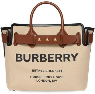 Burberry The Medium Canvas Bag