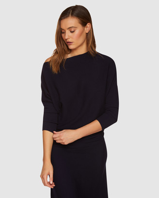 Oxford Violet Slouchy Knit